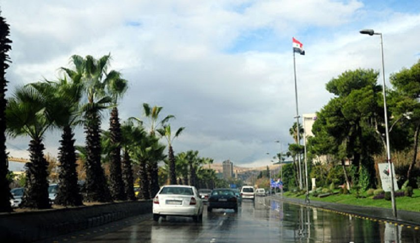 تعرف على الأحوال الجوية في سوريا خلال الأيام الثلاثة القادمة