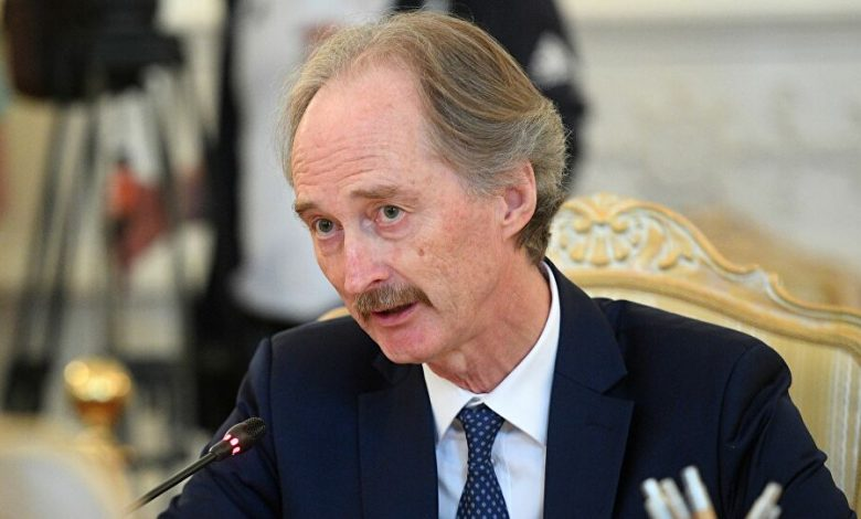 بيدرسون: نواصل بحث التقدم نحو تنفيذ القرار 2254 في سوريا
