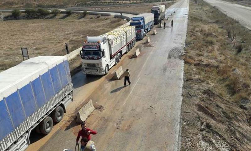 تحرير الشام تعلن عن نيتها افتتاح معبر تجاري مع مناطق سيطرة النظام