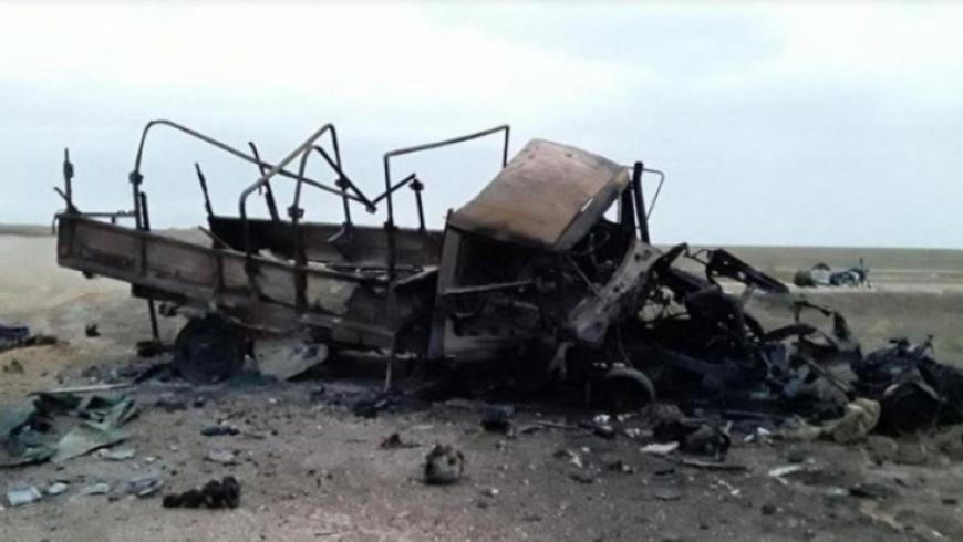 مقتل 4 عناصر من قوات الأسد بانفجار عبوة ناسفة في ريف الرقة
