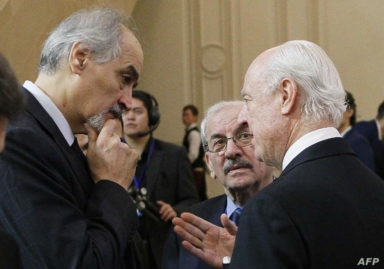 للمشاركة في اجتماعات اللجنة الدستورية، وفد النظام يصل إلى جنيف