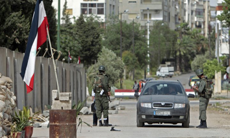لزيادة عناصره...النظام يبدأ بتوسعة قسم الشرطة في كناكر بريف دمشق