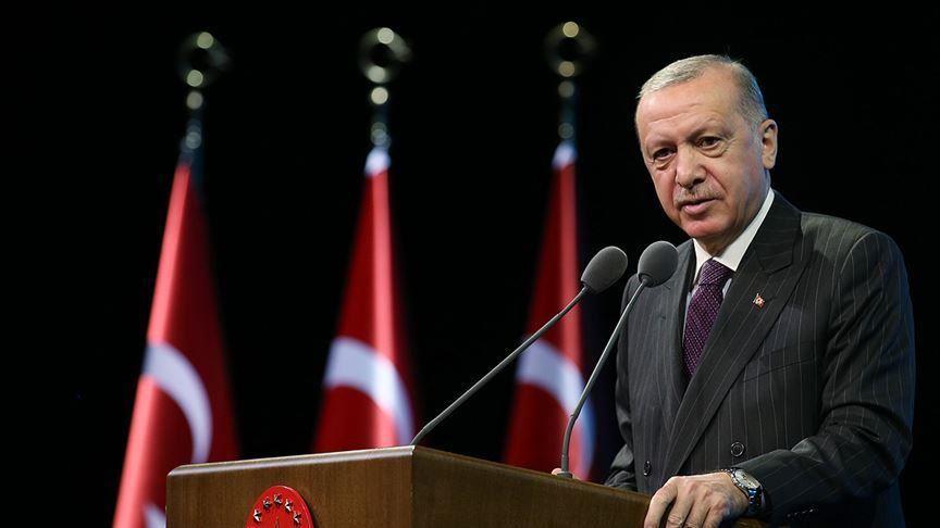 أردوغان : سنواصل الكفاح لإقامة دولة فلسطينية مستقلة