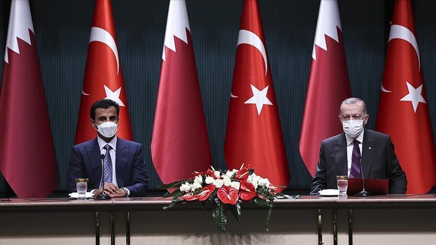 تركيا وقطر توقعان 10 اتفاقيات للتعاون الاقتصادي