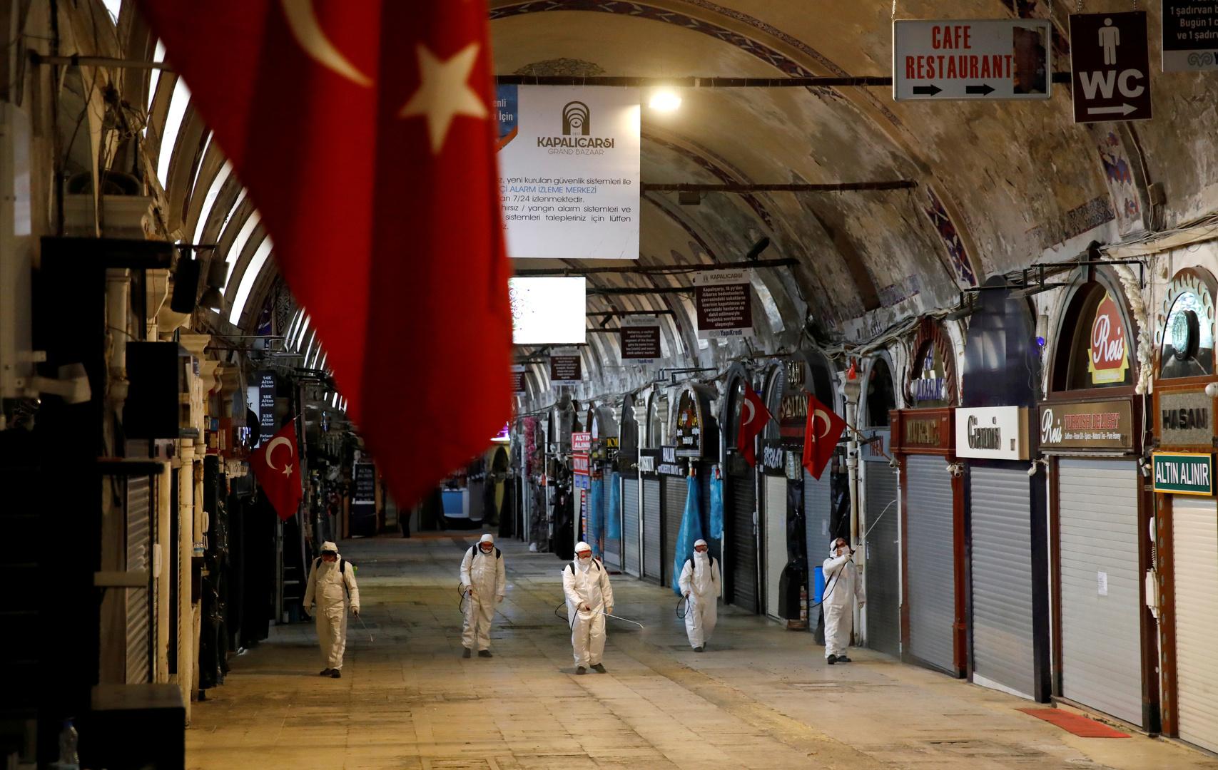 تركيا .. وفيات كورونا تبلغ مستوى قياسيا جديدا