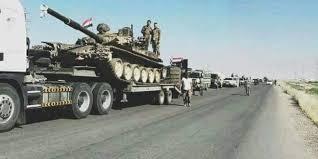 قوات النظام  تستقدم تعزيزات كبيرة إلى ريف الرقة