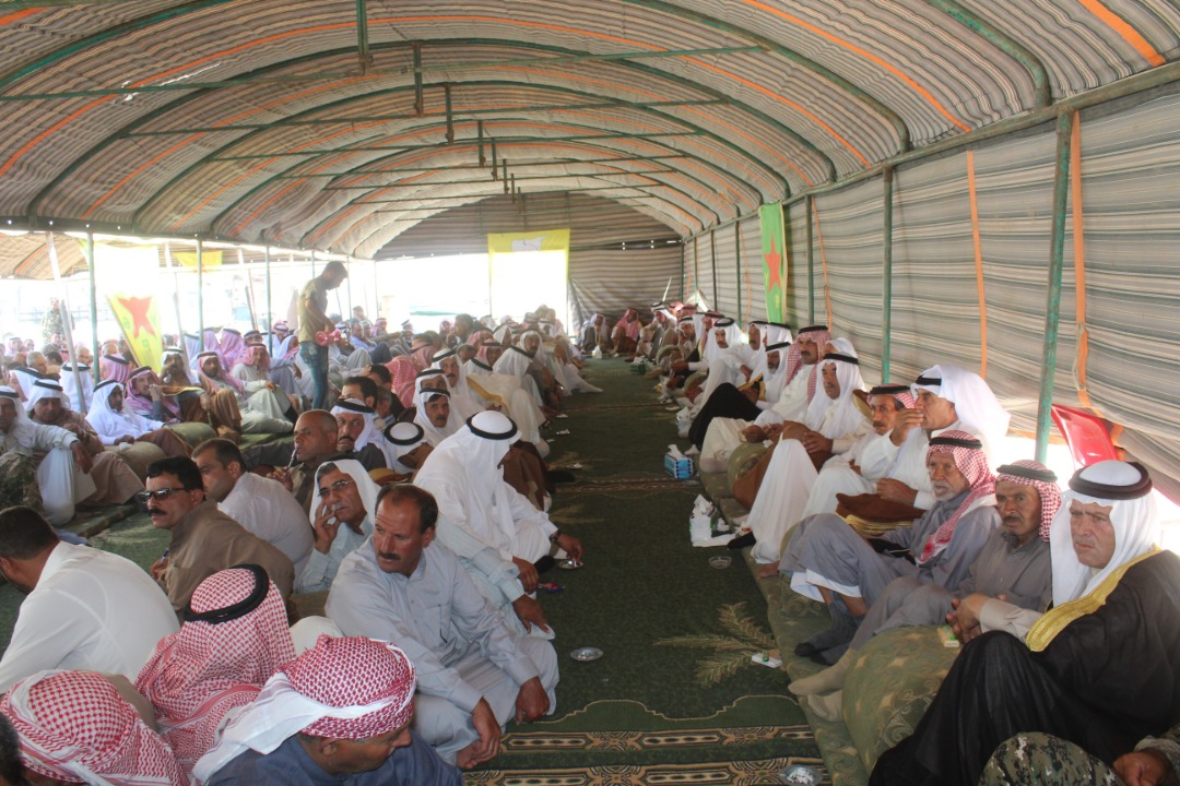 Al-Bukamal clans are demanding administrative independence and threatens SDF a general strike