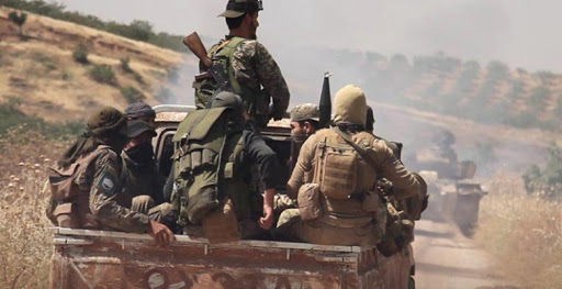 Tahrir al-Sham breaks into a town and kills wanted people