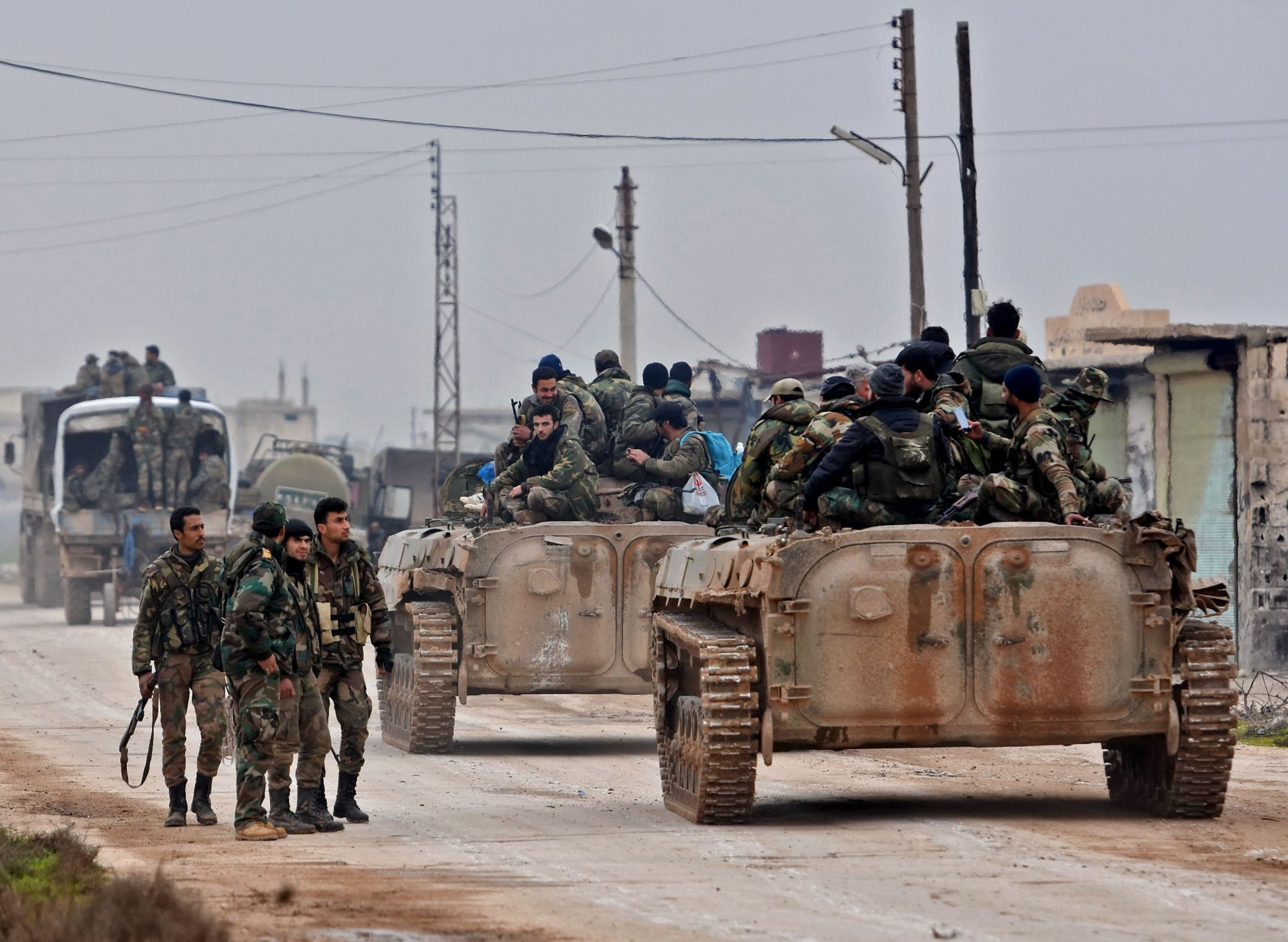 Al-Assad forces are preparing for a military campaign against ISIS in the countryside of Al-Raqqa