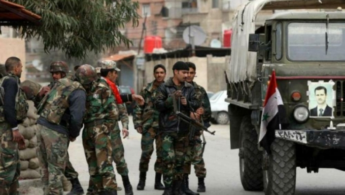 The regime is launching a campaign of arrests in several areas of Damascus countryside