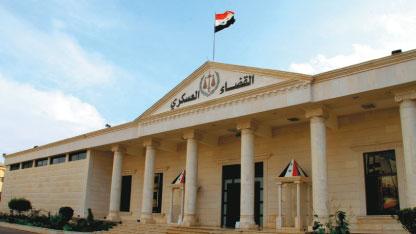 بعد اتهامه بتسريب  معلومات لوسائل إعلام ...نظام الأسد يسرح قاضياً عسكرياً بارزاً