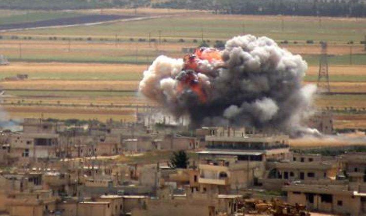 إصابة 6 أطفال بانفجار مخلفات حربية للنظام في منطقة مصياف