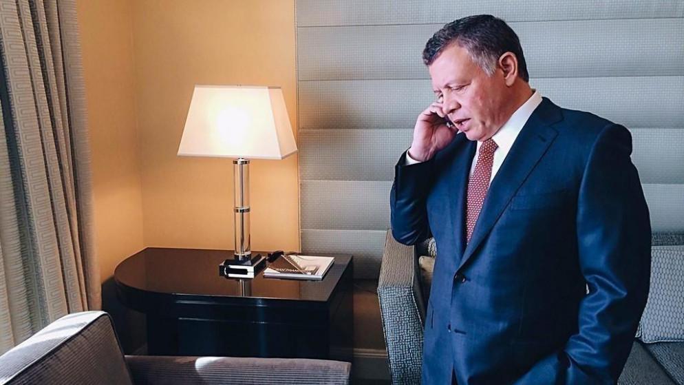 ملك الأردن يهاتف فتاة أُدينت بالحبس بسبب  قولها  (أبوي أحسن من الملك)