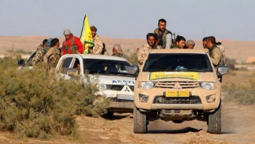 """More than 500 soldiers and 50 armored vehicles """"SDF"""" start a large campaign in the countryside of Deir Ezzor"""