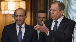 أحمد الجربا: لا يوجد حل سياسي في سوريا دون مشاركة الروس