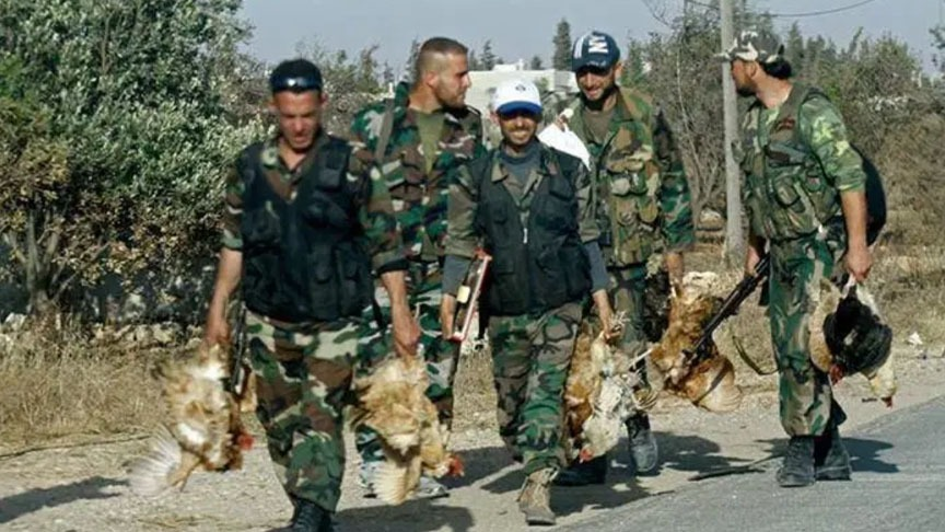 بسبب سرقة الدجاج..هجوم على حاجز للدفاع الوطني في القامشلي