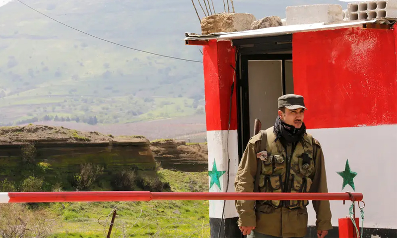 killing a leader in Military Security and 3 of its members in Quneitra countryside