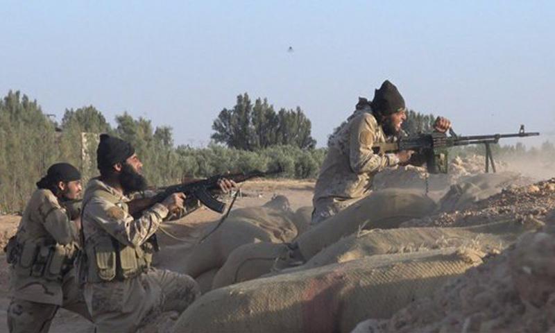 تنظيم الدولة يعلن مقتل جنديين روسيين   في بادية حمص
