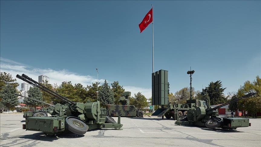 الجيش التركي يتزود  بمنظومات دفاع جوي متطورة  قصيرة المدى