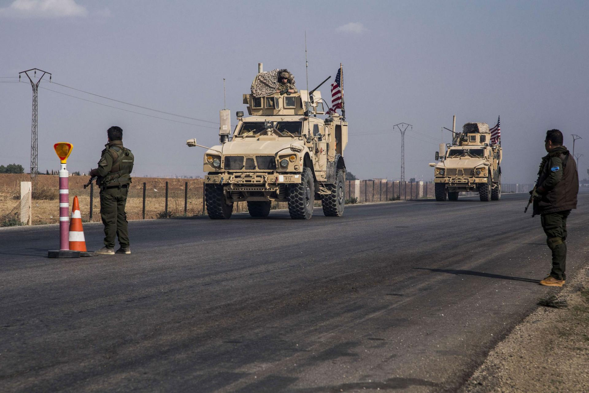 American forces enter new military reinforcements to Al-Shaddadi in Hasakah countryside