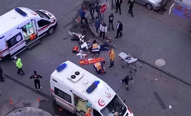 صدمته سيارة إسعاف...وفاة لاجئ سوري في ولاية قيصري