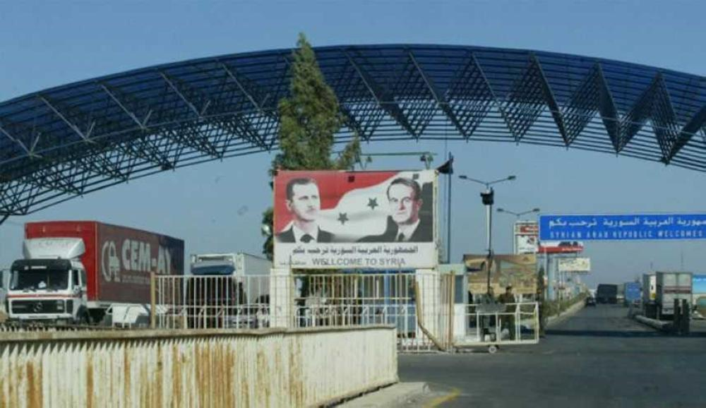 مصدر : عودة حركة التنقل بين النظام والأردن عبر نصيب  لتبادل البضائع  فقط وليس لعبور الأفراد