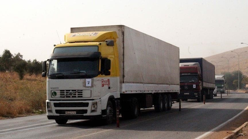 Doctors of the World Organization sent 7 trucks loaded with aid to northern Syria