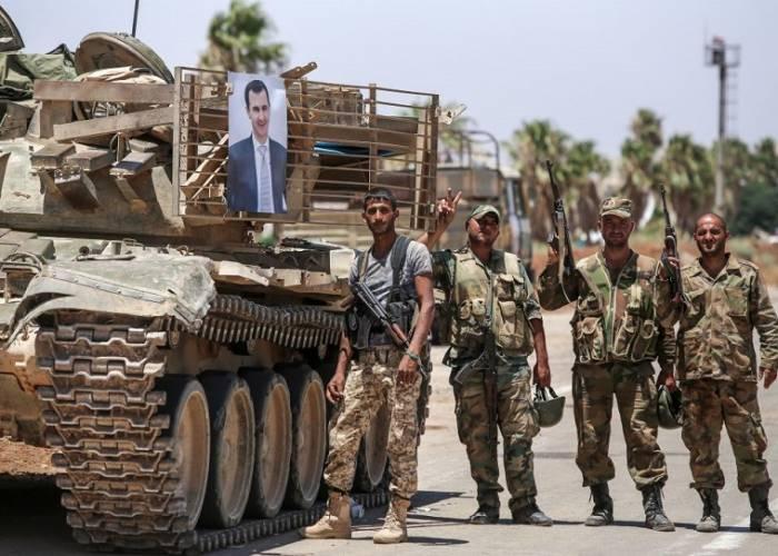 نظام الأسد يدفع  بتعزيزات جديدة  إلى ريف درعا الشرقي