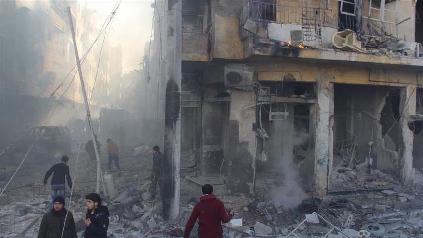 قتلى من قادة تحرير الشام وآخرين من المدنيين بقصف على ريف ادلب
