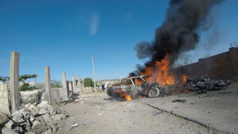 الائتلاف السوري يدين القصف على  ادلب ويطالب الأطراف الدولية  بالتدخل لوقف التصعيد