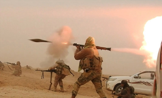 مقتل 18 عنصراً من النظام بينهم ضباط بهجوم لتنظيم داعش في خناصر