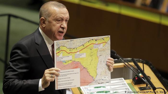 أردوغان يعلن عن مصير الأراضي السورية القريبة من الحدود التركية