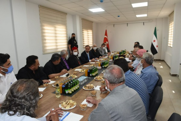 Video: The Syrian Interim Government meets the Assyrians in Ras al-Ain