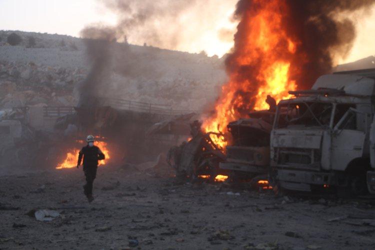 الدفاع المدني السوري: تصعيد النظام  على شمال سوريا يعد امرا خطيرا