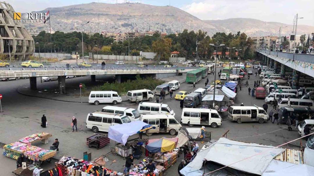 خروج 40% من السرافيس  في العاصمة دمشق عن الخدمة بسبب الأزمة
