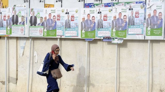 انطلاق الانتخابات التشريعية في الجزائر
