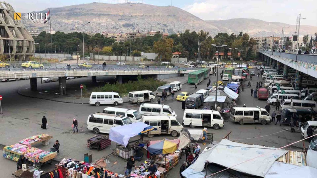 40% of the minibuses in the capital, Damascus, are out of service due to the crisis