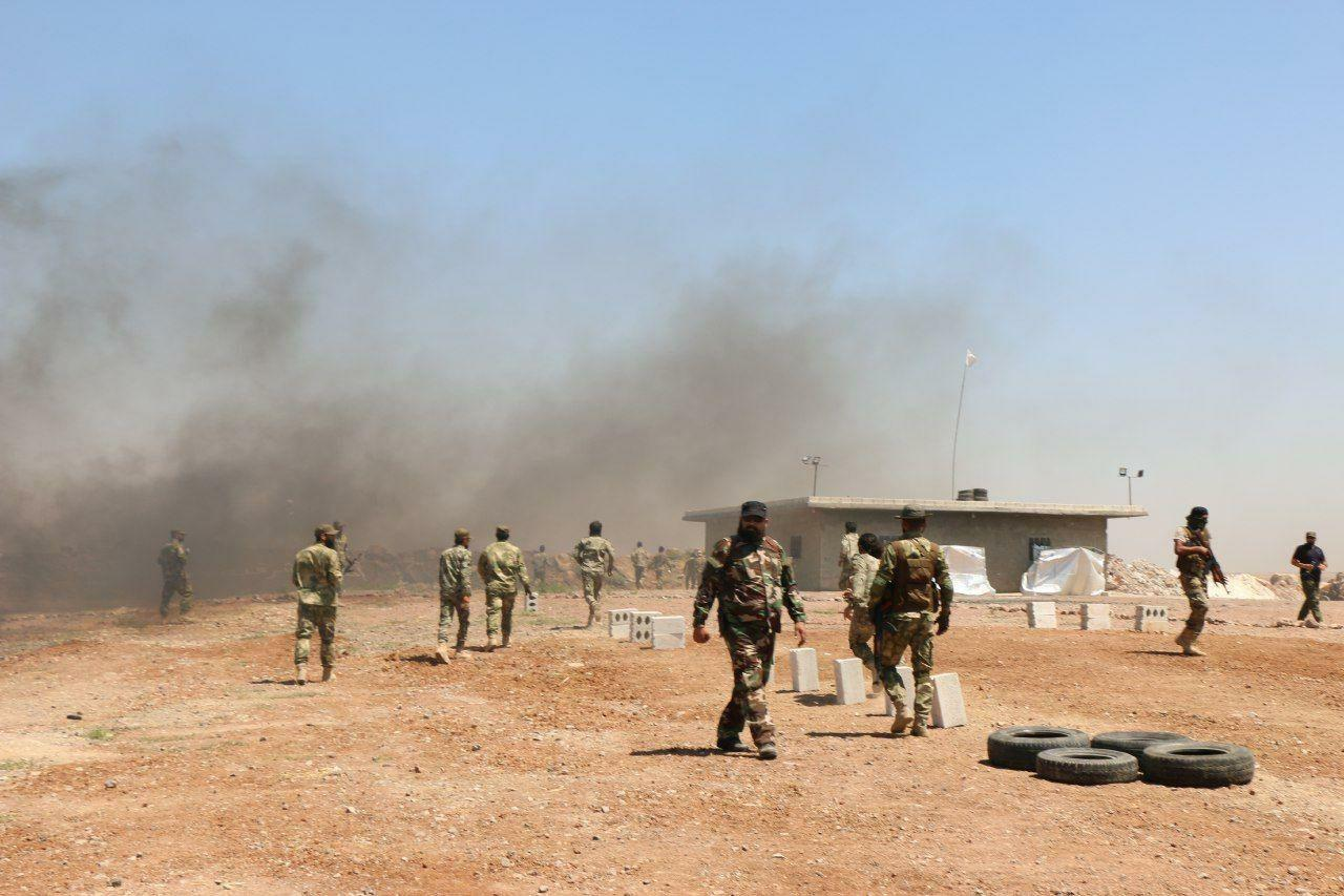 Clashes between the National Army and SDF near the city of Azaz