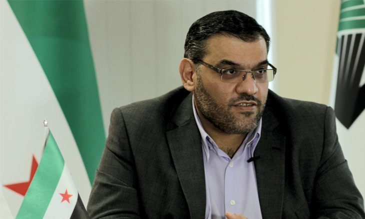 للمرة الثانية..هيئة التفاوض السورية تعلن انتخاب أنس العبدة رئيساً لها