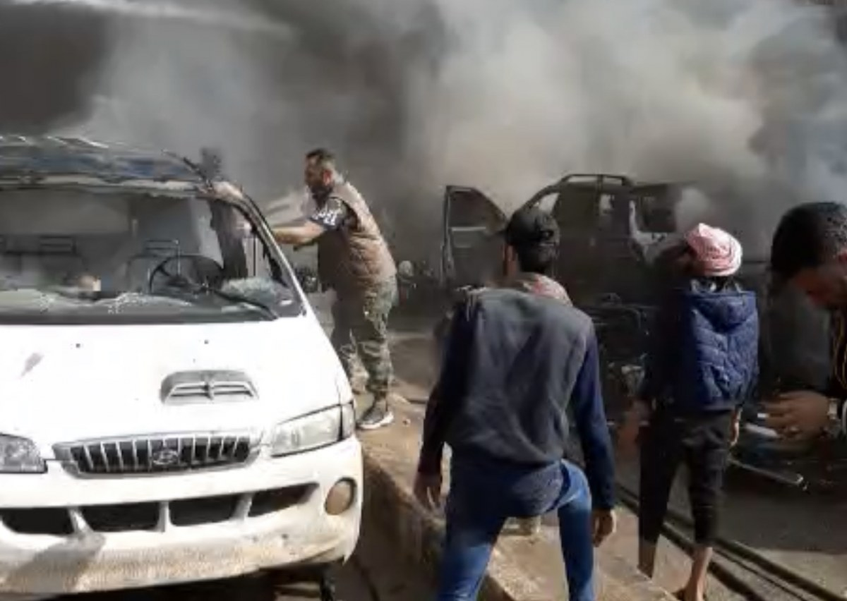 Video: A horrific massacre in Al-Shifa Hospital in Afrin by SDF shelling