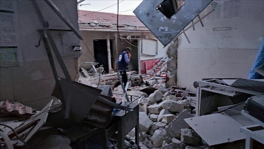القوات التركية تقصف مواقع لـ قسد ردا على ارتكابها مجزرة في عفرين