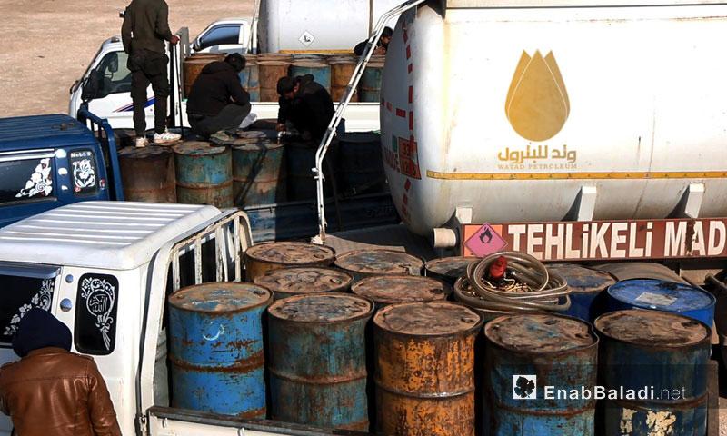 شركة وتد  تخفض أسعار المحروقات في إدلب
