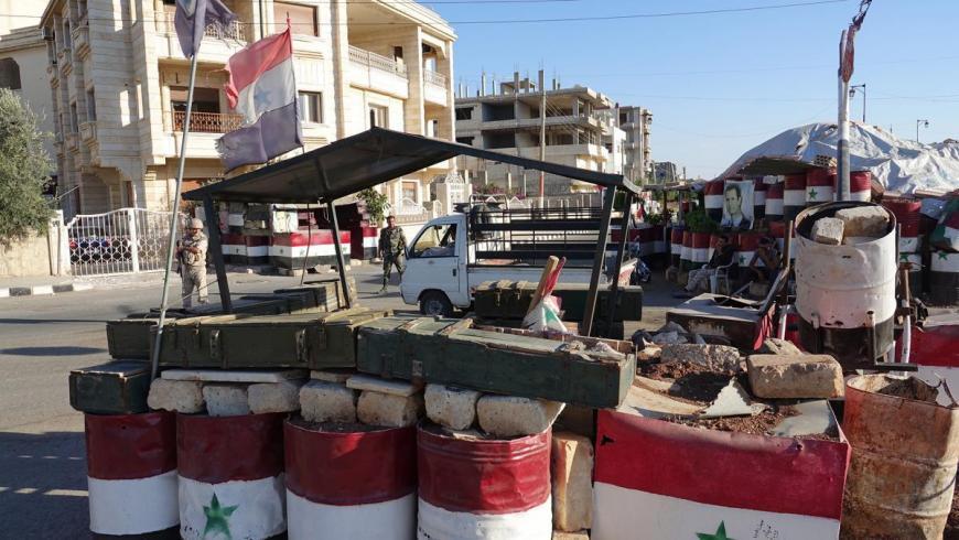مجهولون يستهدفون نقطة للفرقة الرابعة بريف درعا