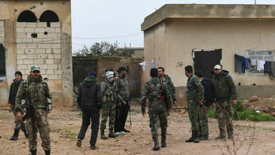 A campaign of raids and arrests in Mahja, rural Daraa