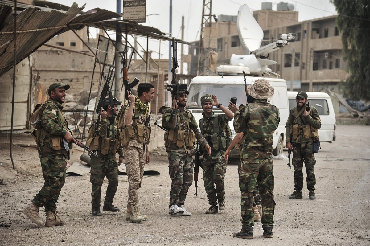 Under the supervision of the regime forces, drugs and prostitution are widespread in Al-Raqqa