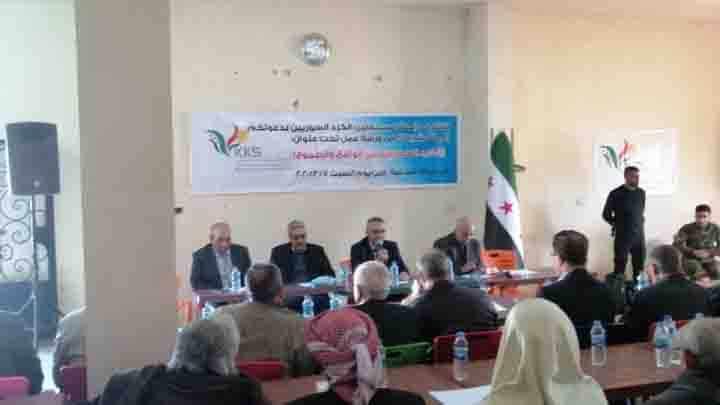 The Kurdish Independent Association holds SDF responsible for Afrin massacre