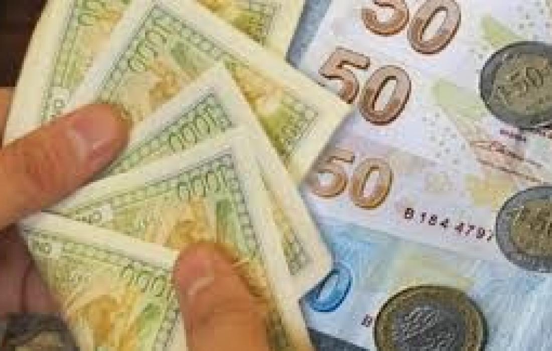 أسعار الدولار والليرة التركية عند افتتاح  تداولات الاثنين