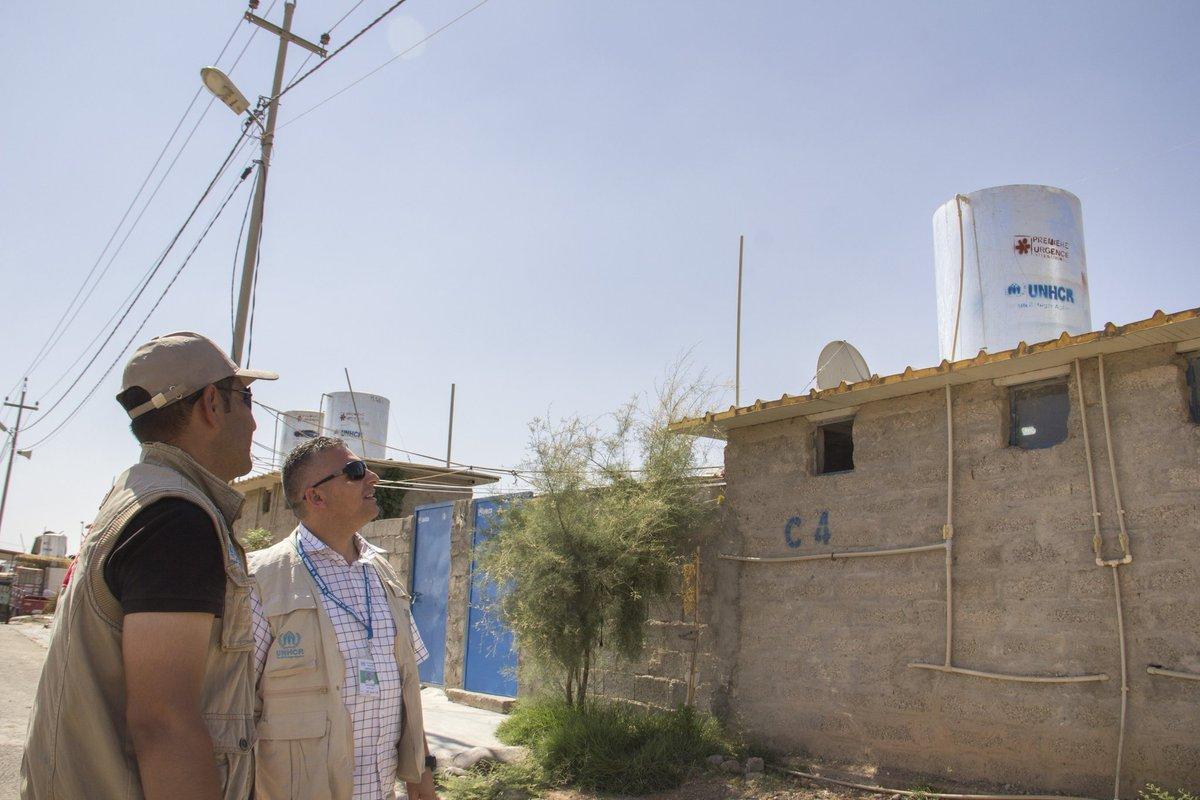 العراق.. مشروع لإيواء 300 عائلة سورية بمساكن إسمنتية في مخيم كويلان