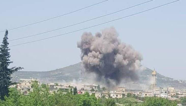 The regime continues shelling Jabal Al-Zawiya area in Idlib