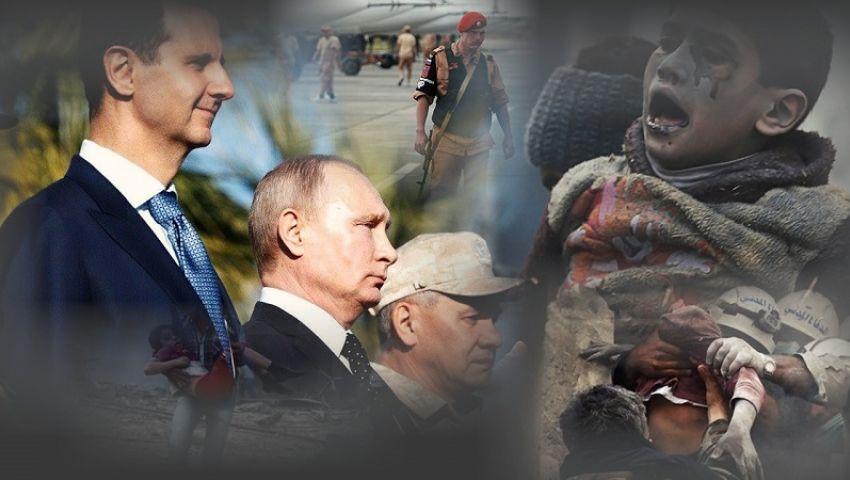 بوتين يزعم  أن قواته  في سوريا احتجزت عصابة من منطقة خاضعة للقوات الأمريكية